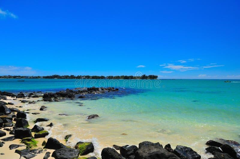 Angra do litoral fotografia de stock