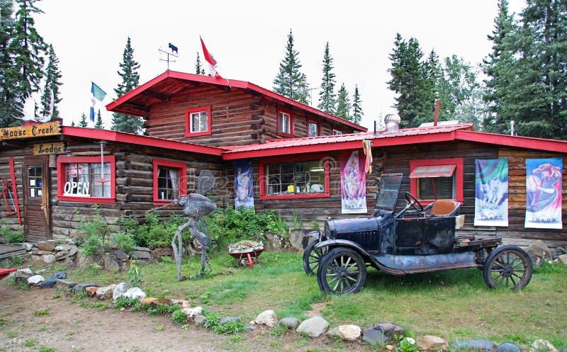 Angra dos alces, Alaska foto de stock royalty free
