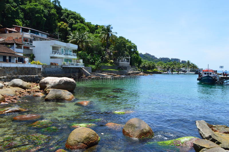 Angra dos reis in Brazil. Popular resort in Brazil, Angra dos reis stock photo