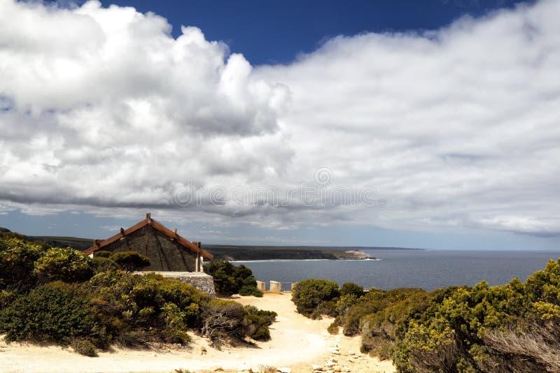 Angra dos Weir, ilha do canguru imagem de stock