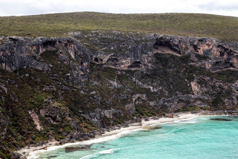 Angra dos Weir, ilha do canguru fotos de stock