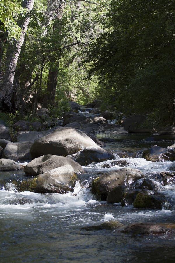Angra em Sedona o Arizona fotografia de stock