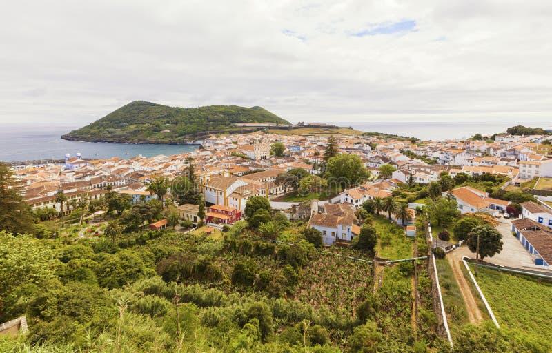 Angra fa Heroismo, isola di Terceira, Azzorre fotografie stock
