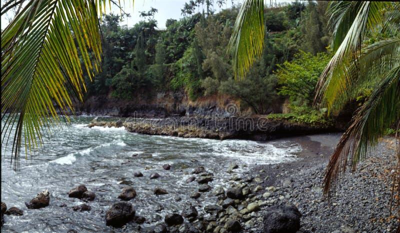 Angra Havaí fotografia de stock royalty free