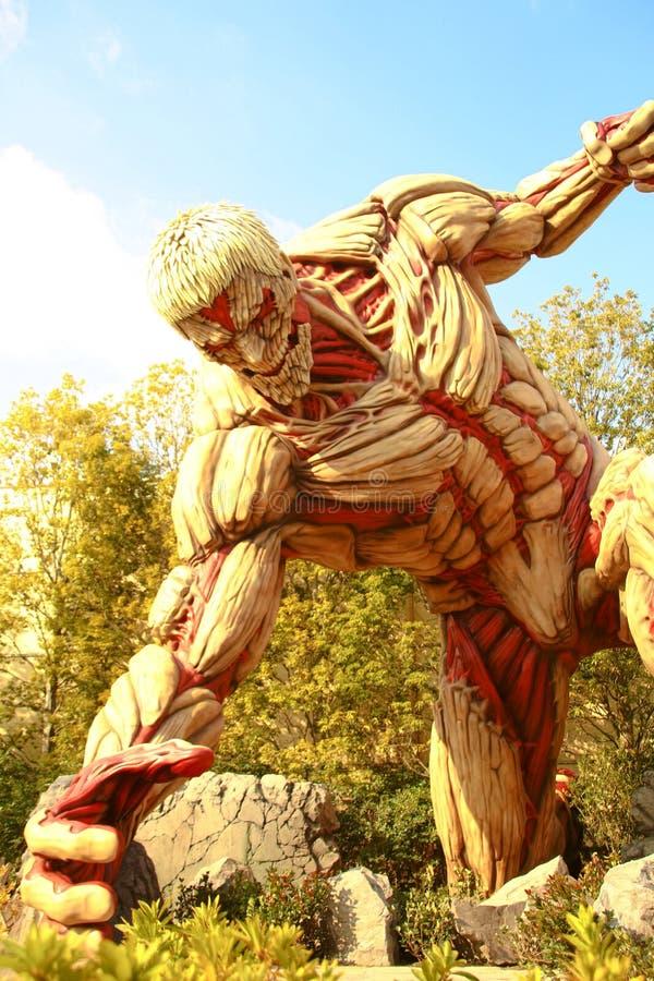 Angriff auf Titanen stockfotos