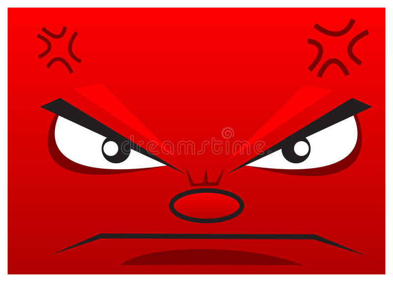 Download Angry stock vector. Image of backdrop, drawing, design - 22782768