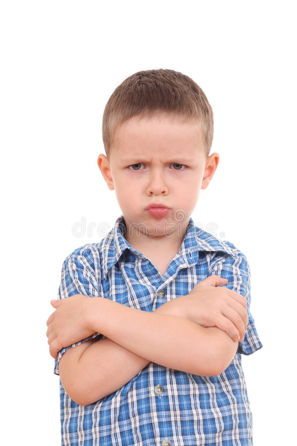 Angry! royalty free stock photography