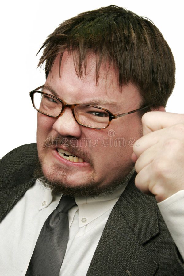 Angry royalty free stock photo