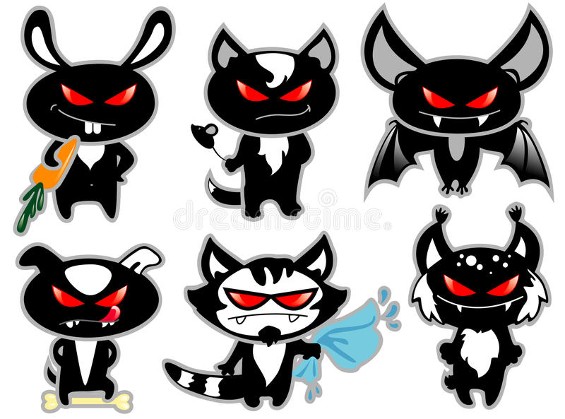 Angry Animals Stock Photo