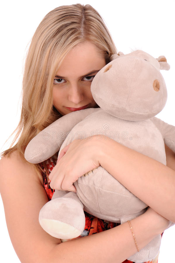 Download Angry Blond Woman Stock Image - Image: 14193281