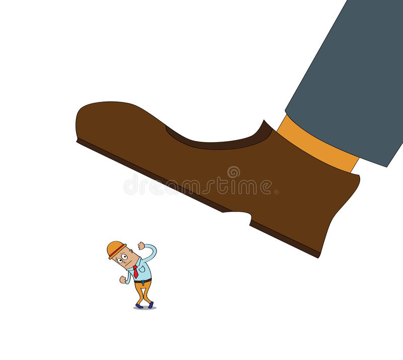 Download Angry Boss stock vector. Illustration of business, issue - 25726574