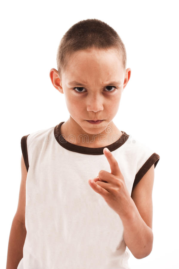 Download Angry boy stock photo. Image of teen, background, person - 15738166