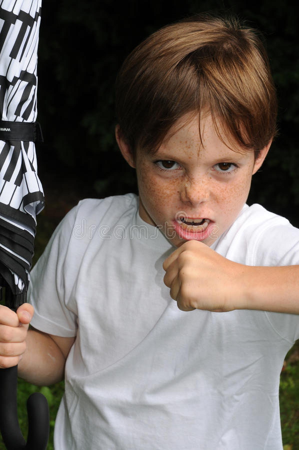 Free Angry Boy Stock Images - 22261164