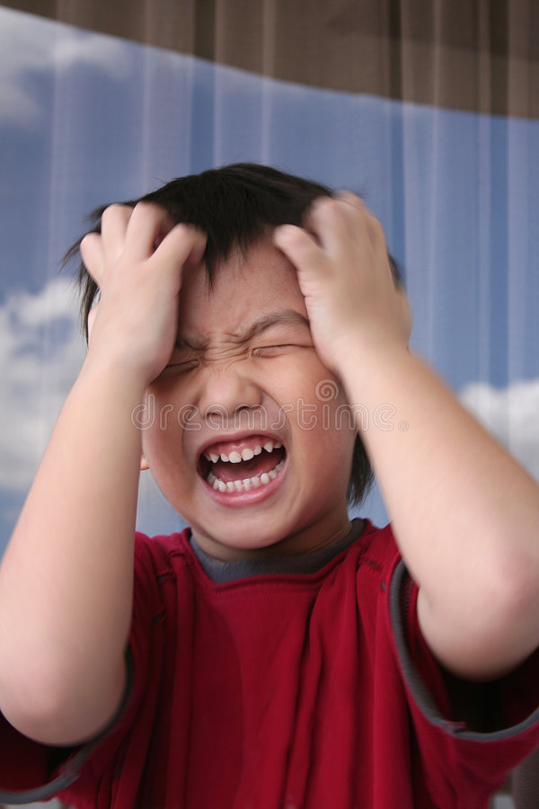 Download Angry boy stock image. Image of emotion, frown, kids, impatient - 8378485
