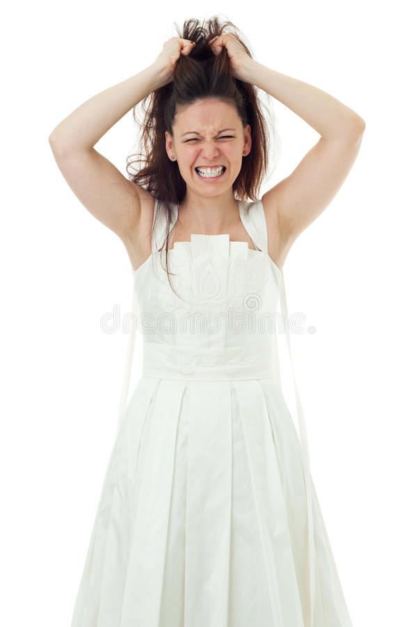 Free Angry Bride Royalty Free Stock Images - 17018549