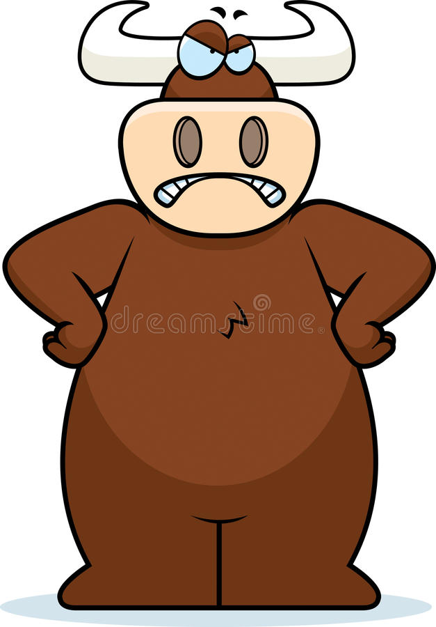 Download Angry Bull stock vector. Image of angry, upset, illustration - 11792458