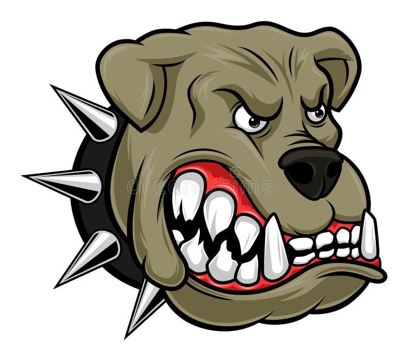 Bulldog vector illustration