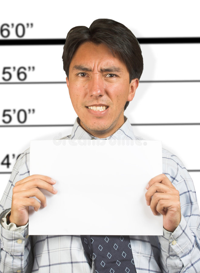 Download Angry Business Male Mugshot Stock Image - Image: 227231