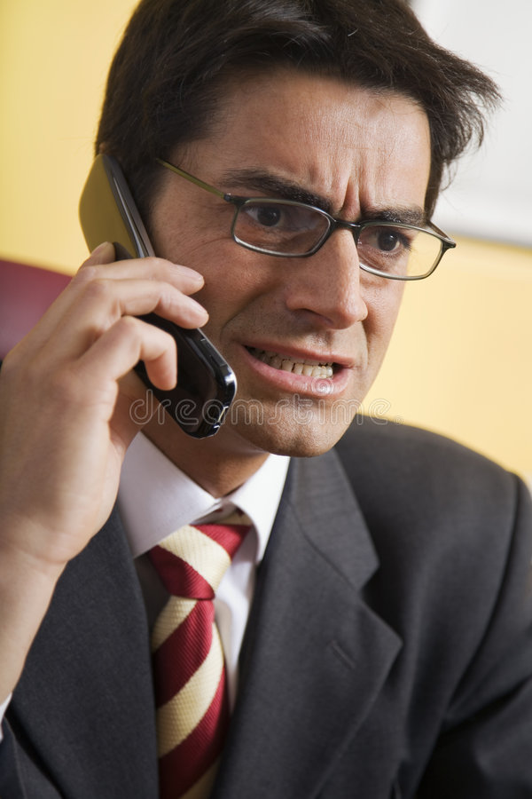 Download Angry businessman stock image. Image of disappointed, anxious - 2318951