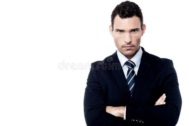 60 year old businessman suit angry businessman with crossed arms stock photo image of. Black Bedroom Furniture Sets. Home Design Ideas