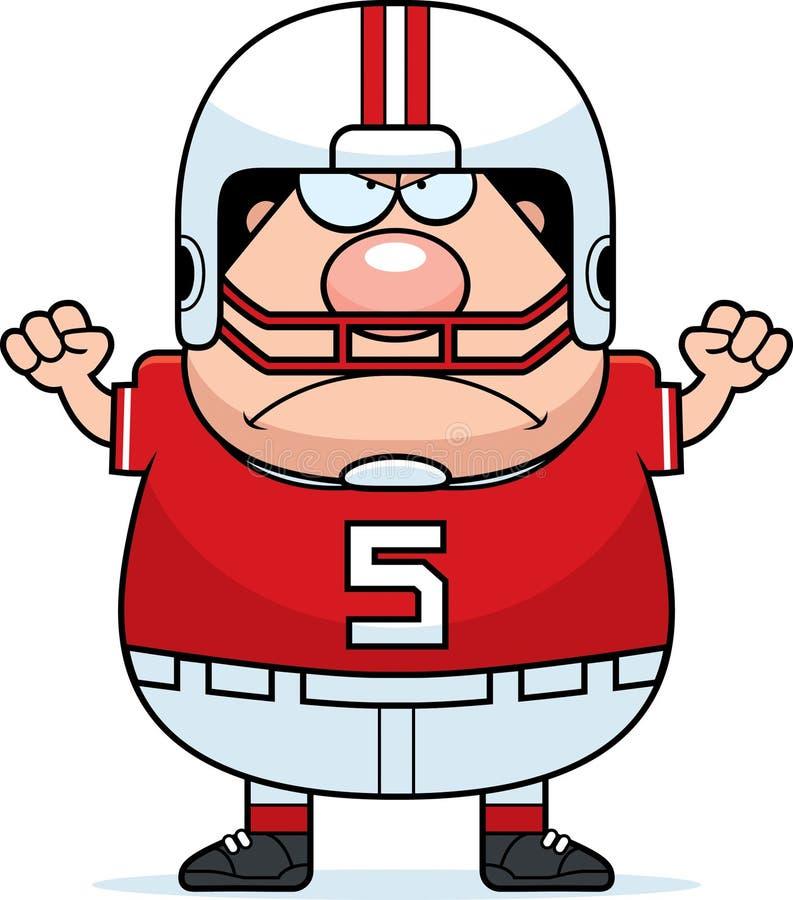 Angry Cartoon Football Stock Vector - Image: 47714178