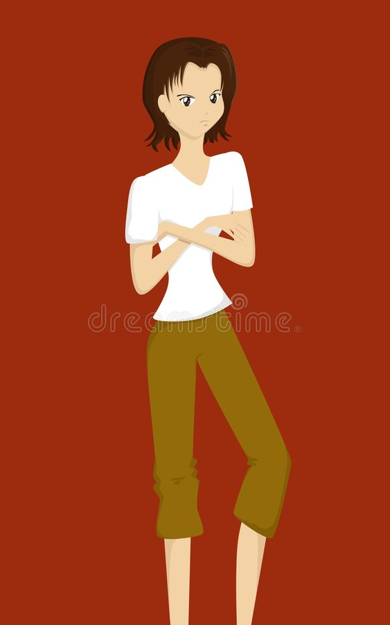 Download Angry Cartoon Lady Royalty Free Stock Photos - Image: 2679728