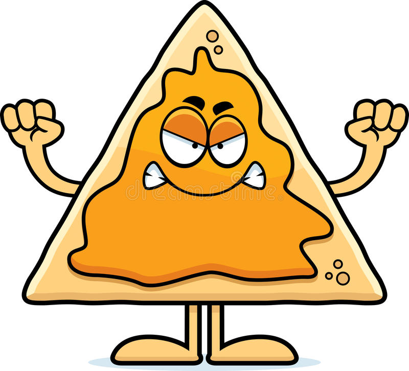 angry cartoon nachos stock vector illustration of clip 47333535 rh dreamstime com nacho cheese clipart nacho clipart free