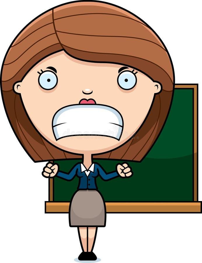 angry cartoon teacher stock vector image 49632564 Clip Art Growl Clip Art Growl