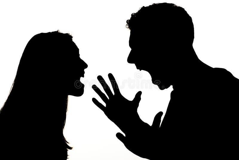 angry couple στοκ φωτογραφία με δικαίωμα ελεύθερης χρήσης
