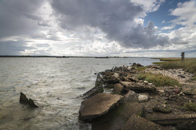 Harty Ferry stock photo
