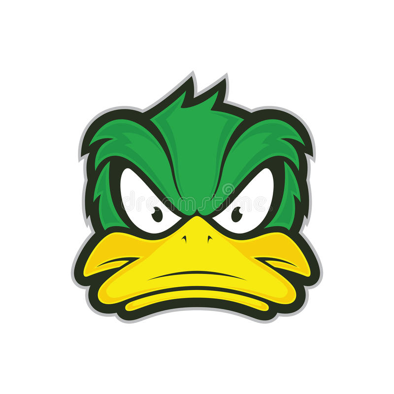 Free Angry Duck Mascot Stock Images - 80229914