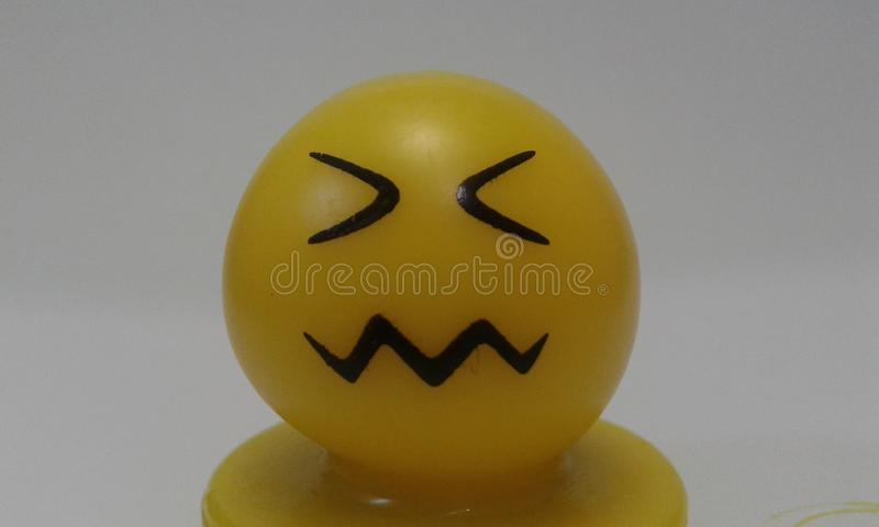 Angry face upset disturbed stock photography