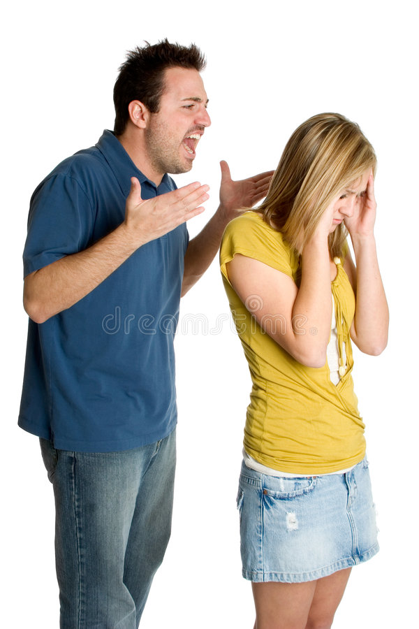 Download Angry Fighting Couple stock photo. Image of woman, upset - 3492498