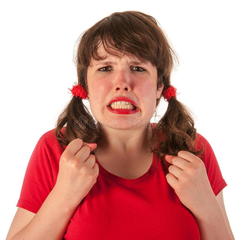 Download Angry girl stock image. Image of furious, beauty, raging - 26646895