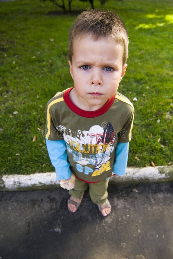Download Angry Kid Royalty Free Stock Image - Image: 3060336
