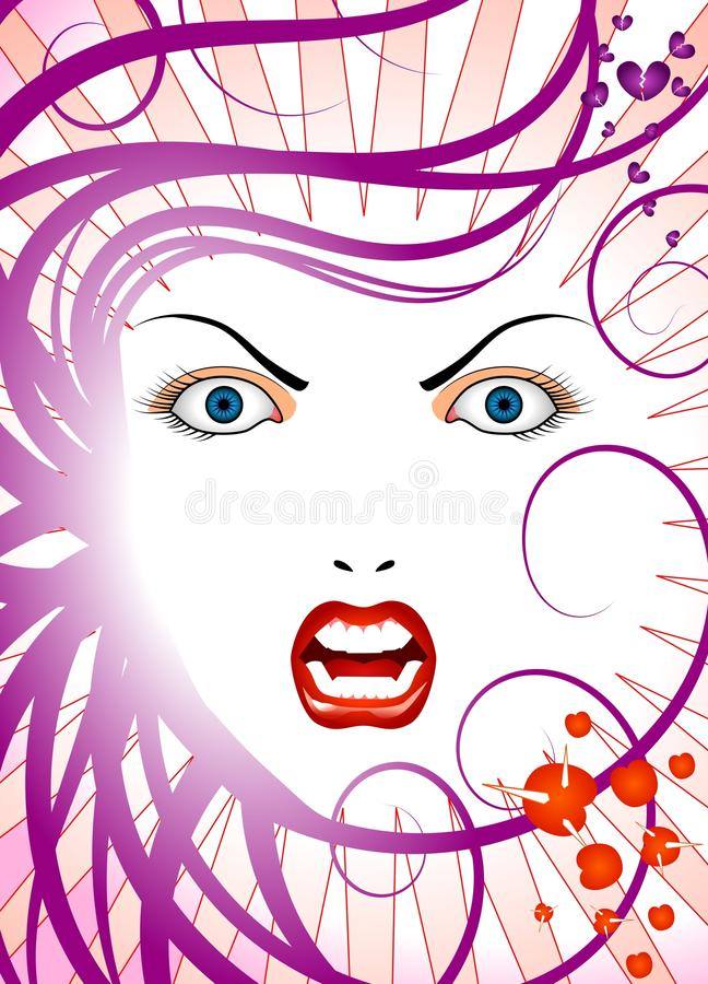 Download Angry Lady Royalty Free Stock Photography - Image: 9963217