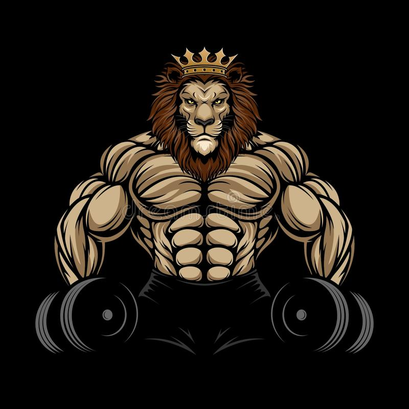 Free ANGRY LION GYM Royalty Free Stock Photo - 138510505