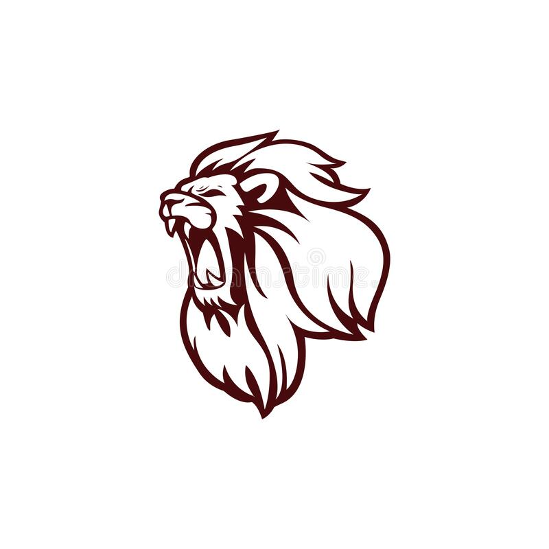 Angry Lion Head Logo Icon Sign Outline Flat Design Vector Illustration Stock Vector Illustration Of Label Identity 169253362 Download this premium vector about outline lion logo, and discover more than 10 million professional graphic resources on freepik. angry lion head logo icon sign