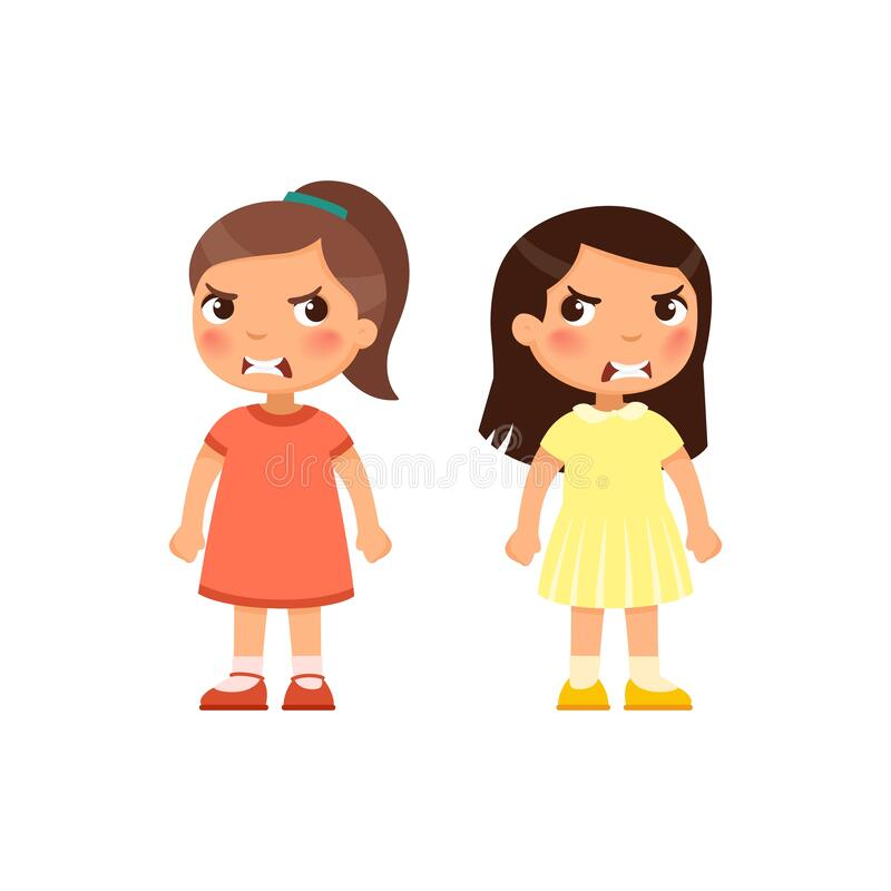 Angry Kids Stock Illustrations 3 216 Angry Kids Stock Illustrations Vectors Clipart Dreamstime