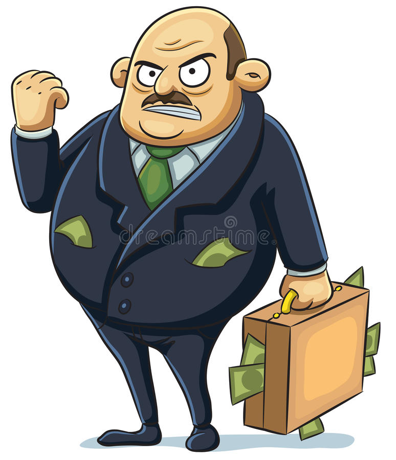 Angry Mafia Stock Photos