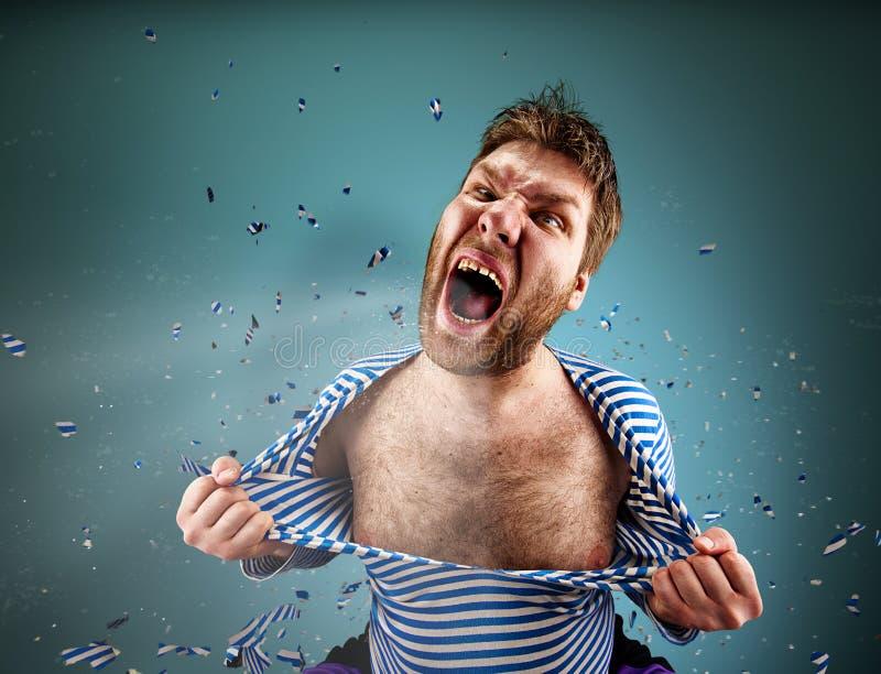 angry man στοκ εικόνα