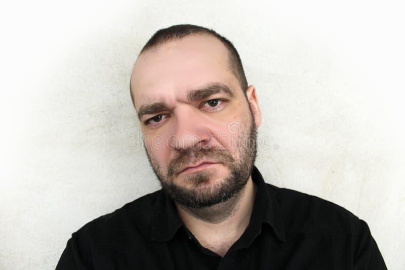 Angry man royalty free stock photo