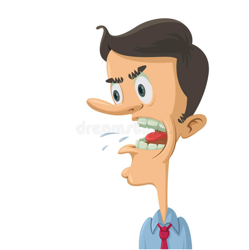 Profile Angry Man Face Shouting Stock Illustrations 28 Profile