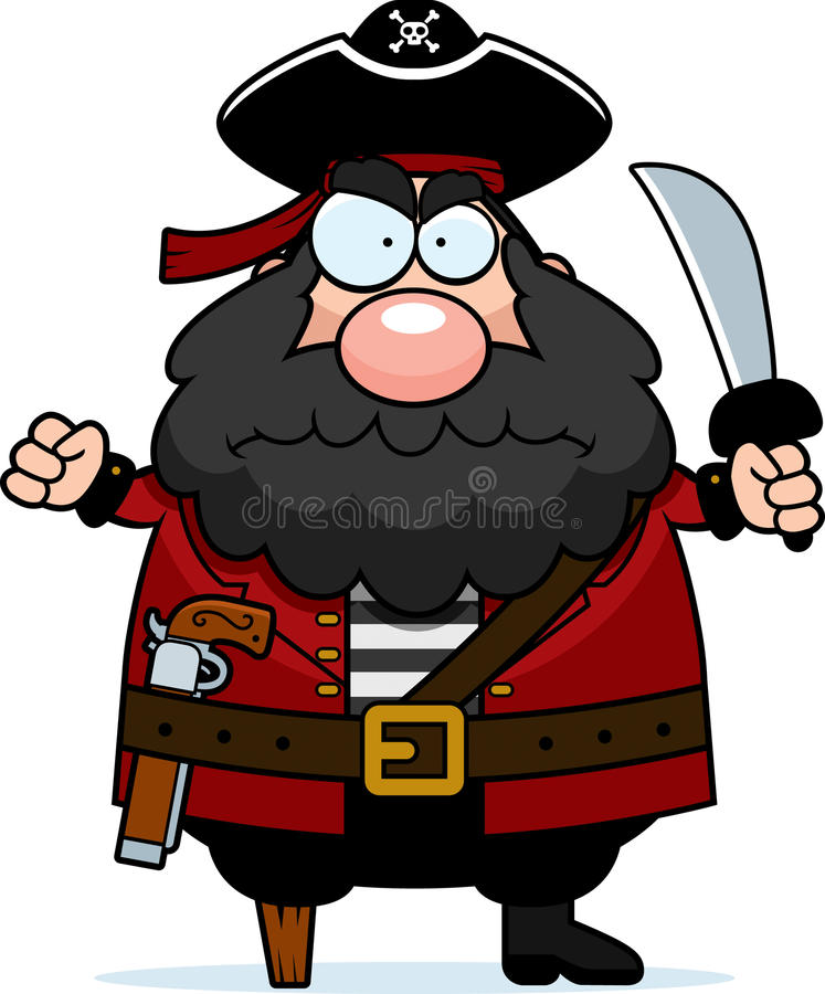Download Angry Pirate Stock Image - Image: 13026791