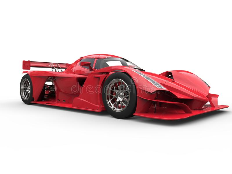 Download Angry Red Super Race Car - Beauty Shot Stock Illustration - Illustration of powerful, speed: 114666495
