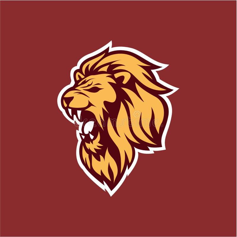 Designer logo with lion