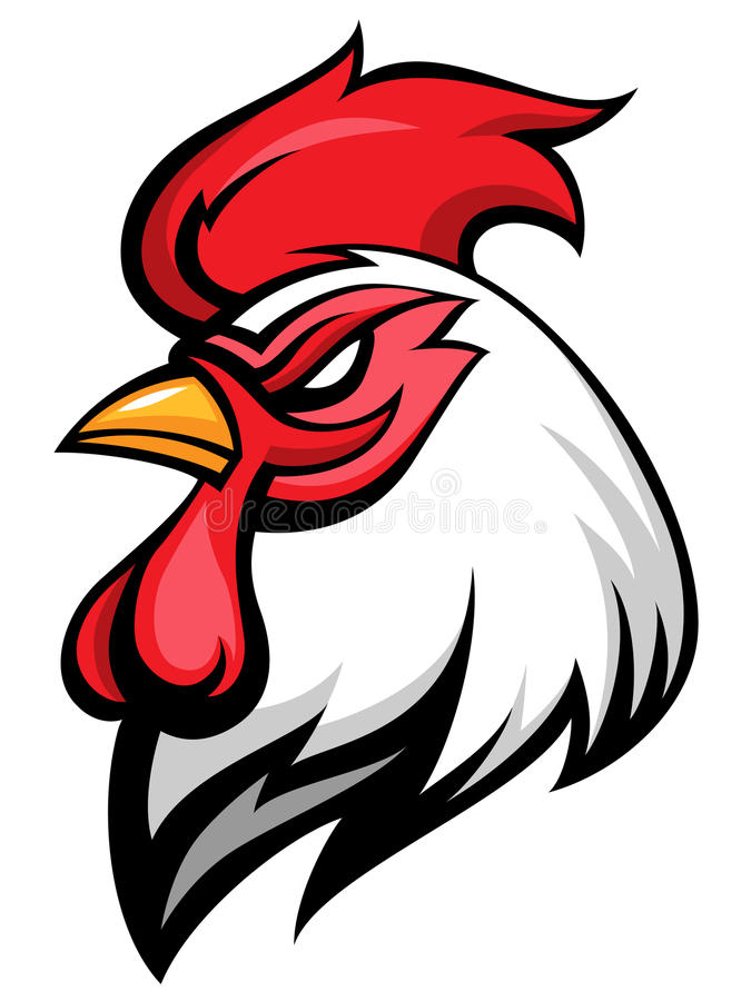 Free Angry Rooster Royalty Free Stock Image - 39863566