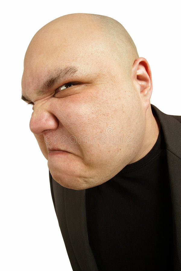 Download Angry sneer stock image. Image of male, sneer, bizarre - 4748015