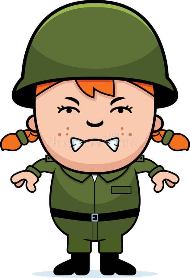 Army Girl Graphics