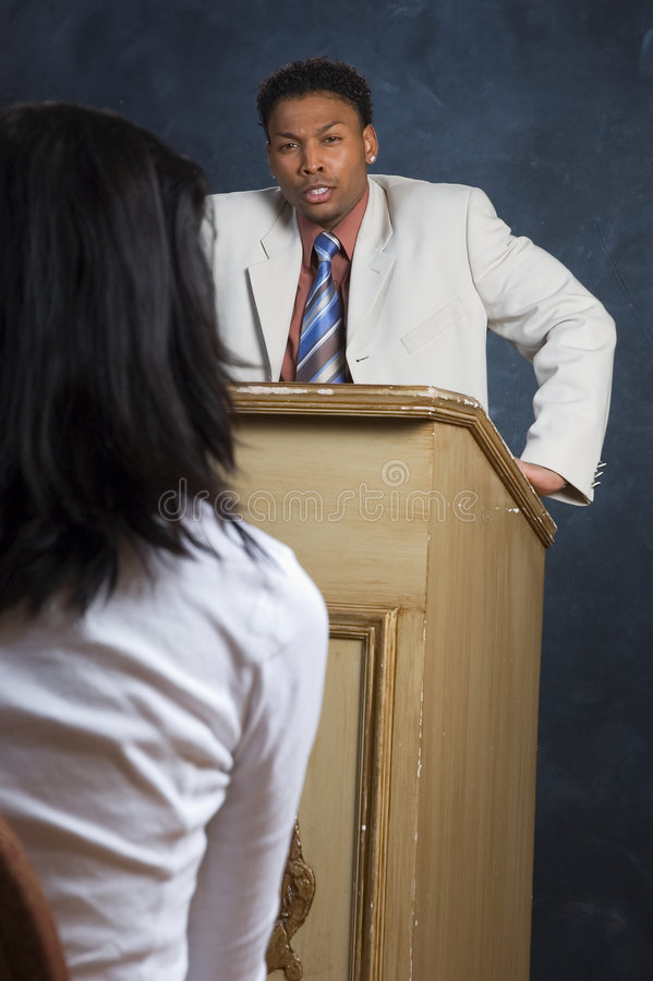 Angry Speech stock photos